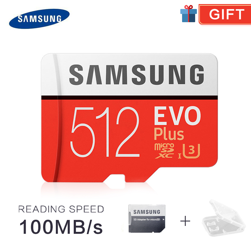 SAMSUNG TF SD Cards Trans Flash Microsd Memory Card Micro SD 32GB 64GB 128GB Tf 256GB 512G SDHC SDXC Grade EVO+ Class 10 C10 UHS
