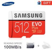 SAMSUNG TF SD Cartes Trans Flash Microsd Carte Mémoire Micro SD 32 GO 64 GO 128GB tf 256 GO 512G SDHC SDXC Qualité EVO + Classe 10 C10 UHS