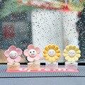 Auto Schütteln Kopf Sonnenblume Dekoration Nette Sonne Blume Auto Schütteln Kopf Dekoration Ornament Auto Innen Dekoration Zubehör