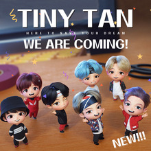 2020 TINY TAN Bangtan Boy Mini Cute Doll Figure Toy Toy  Ornaments for Cake for Car