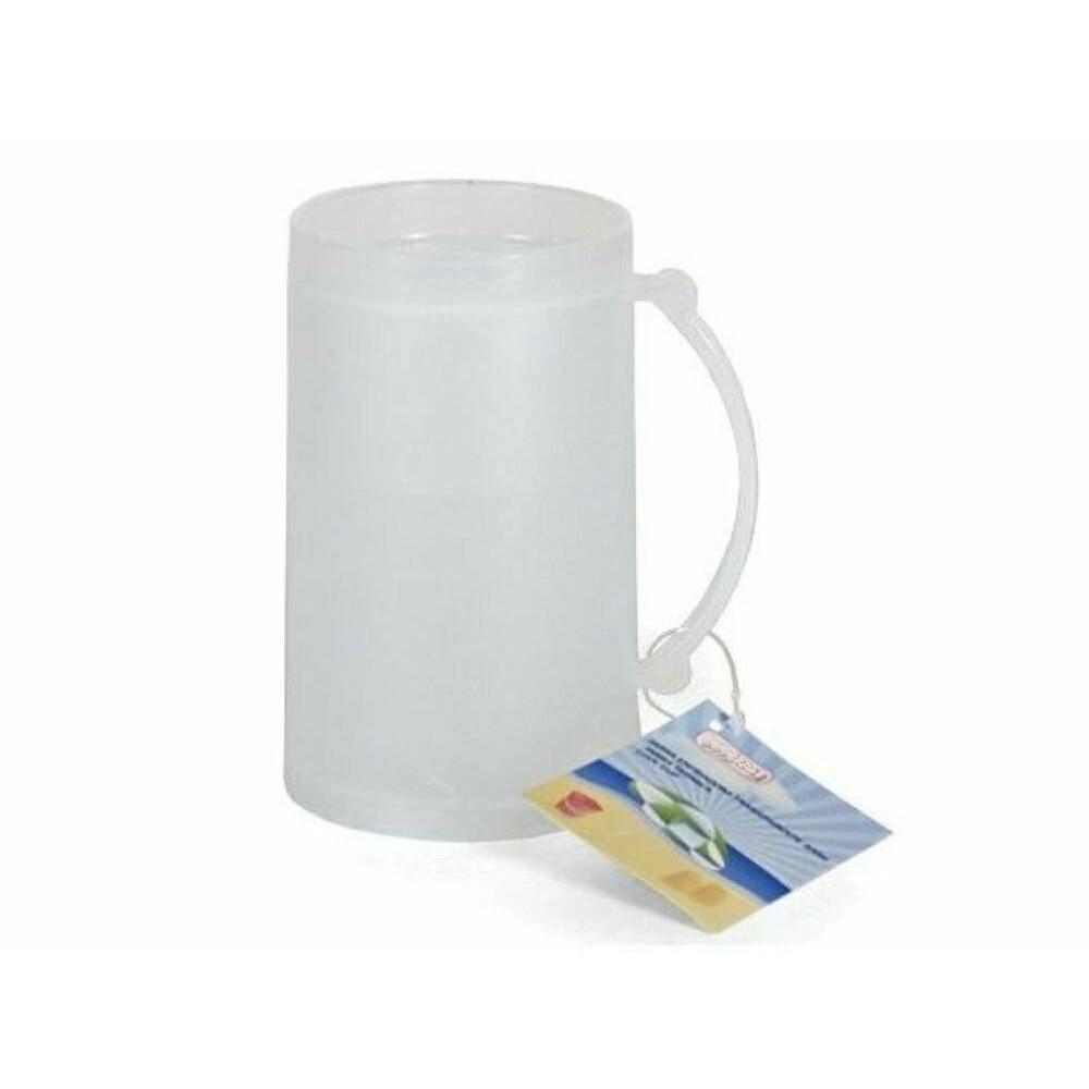 Brocca refrigeratore di ghiaccio Di Vetro di birra tazza tazze per gelata di ghiaccio tazza di panna tazze di plastica 15 centimetri