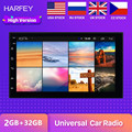 Harfey RAM 2GB+ ROM 32GB GPS autoradio 2Din Universal 7inch Android 8.1 Multimedia Unit Player For VW Nissan Kia radio Car Radio