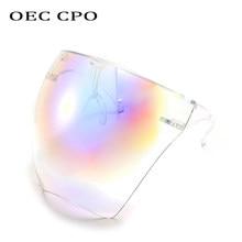 OEC CPO-gafas de sol protectoras para hombre y mujer, lentes de seguridad de una pieza, a prueba de viento, Unisex