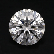 Loose Moissanite 2.5ct Carat 8.5mm D Color Round Brilliant Excellent Cut Stone VVS1 jewelry Lab diamond ring material