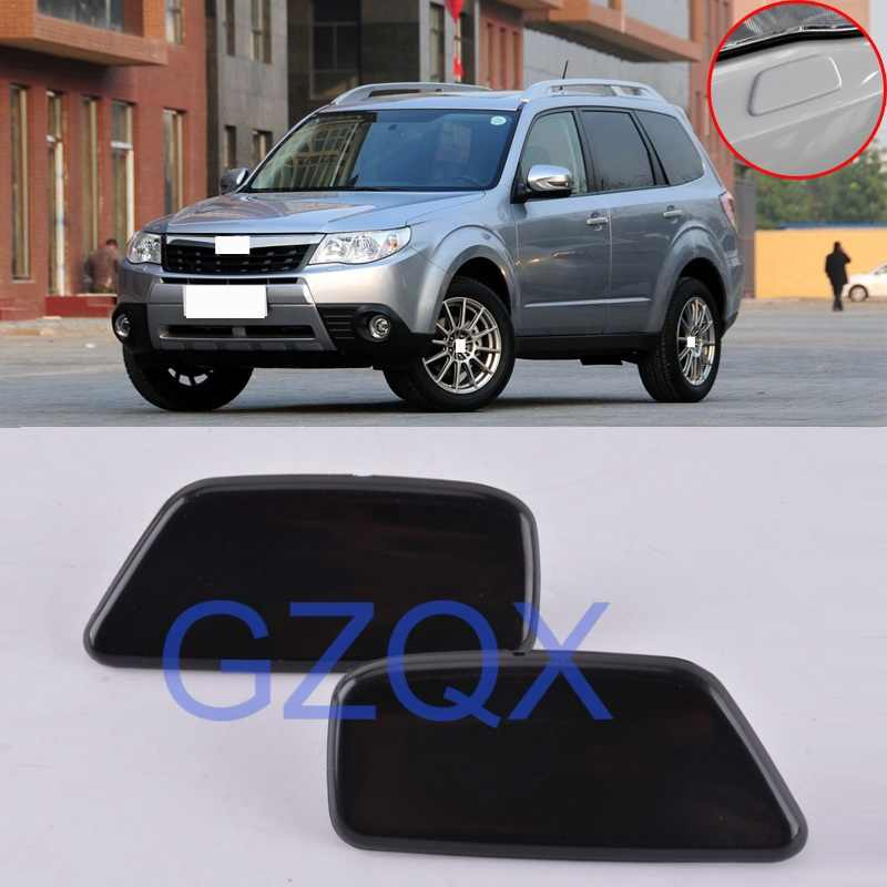 CAPQX 2 adet/grup Subaru Forester için III 2008 2009 2010 2011 2012 ön far kafa lambası yıkama nozulu kapağı OEM #86636SC030