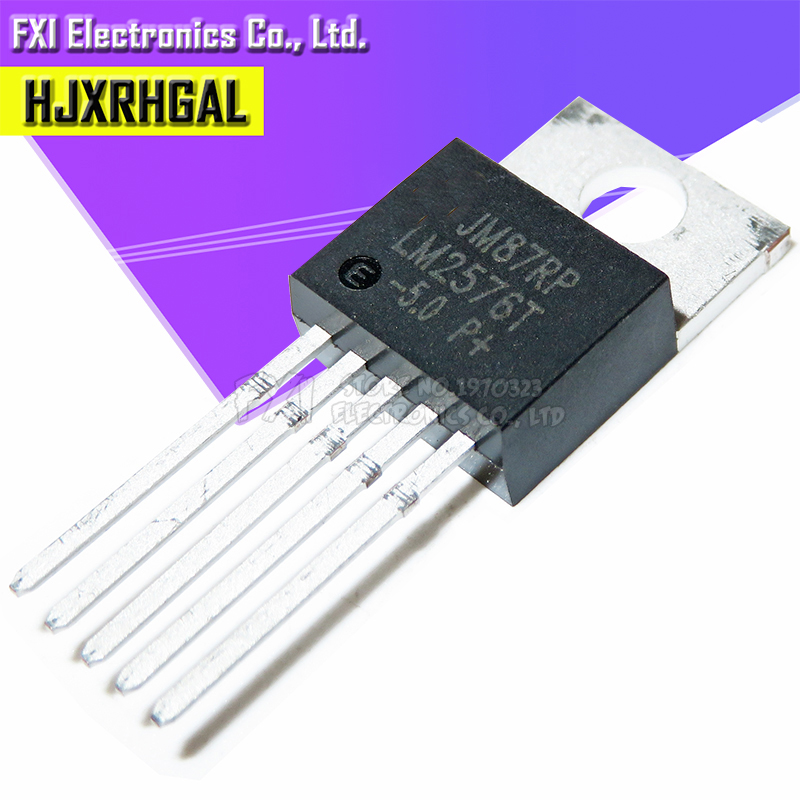 10PCS LM2576T-5.0 LM2576-5.0 TO220 TO-220 LM2576T- New Original