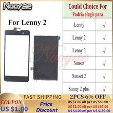 شاشة LCD لـ Wiko Lenny 2 3 ، شاشة تعمل باللمس لـ Micromax Spark 2 Q334 Bolt D303