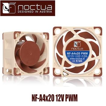 Noctua NF-A4x20 12V 4Pin PWM Cooling fan 4020 (40*40*20mm) SS02 3D printer Hightest Silent quiet Computer cooler cooling Fan