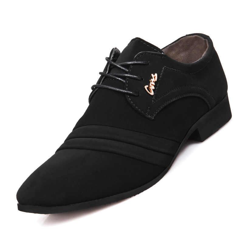 อย่างเป็นทางการOxfordรองเท้าสำหรับบุรุษรองเท้าManชุดแต่งงานรองเท้าผู้ชายรองเท้าZapatillas Hombre Deportiva Mocassin Homme Dfv67