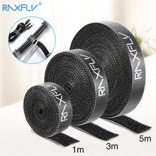 Clip-Holder Cable-Ties-Strap 3M Raxfly Buckled Hook Bandage Loop-Fastener Magic-Tape