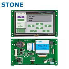 5 インチ hmi スマート tft 液晶ディスプレイモジュールコントローラ + プログラム + タッチ + uart シリアルインタフェース STVC050WT 01