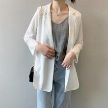 New Women Blazer Suit Female 2019 Korean Version Loose Long Sleeve Clothes Blaiser Feminino Femme Hot Sale