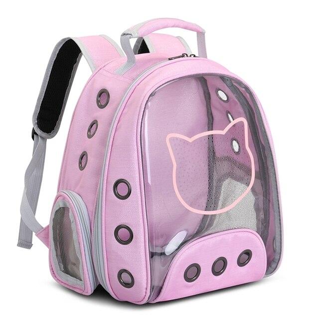 Купить прозрачный воздухопроницаемый панорамный рюкзак в виде капсулы картинки цена