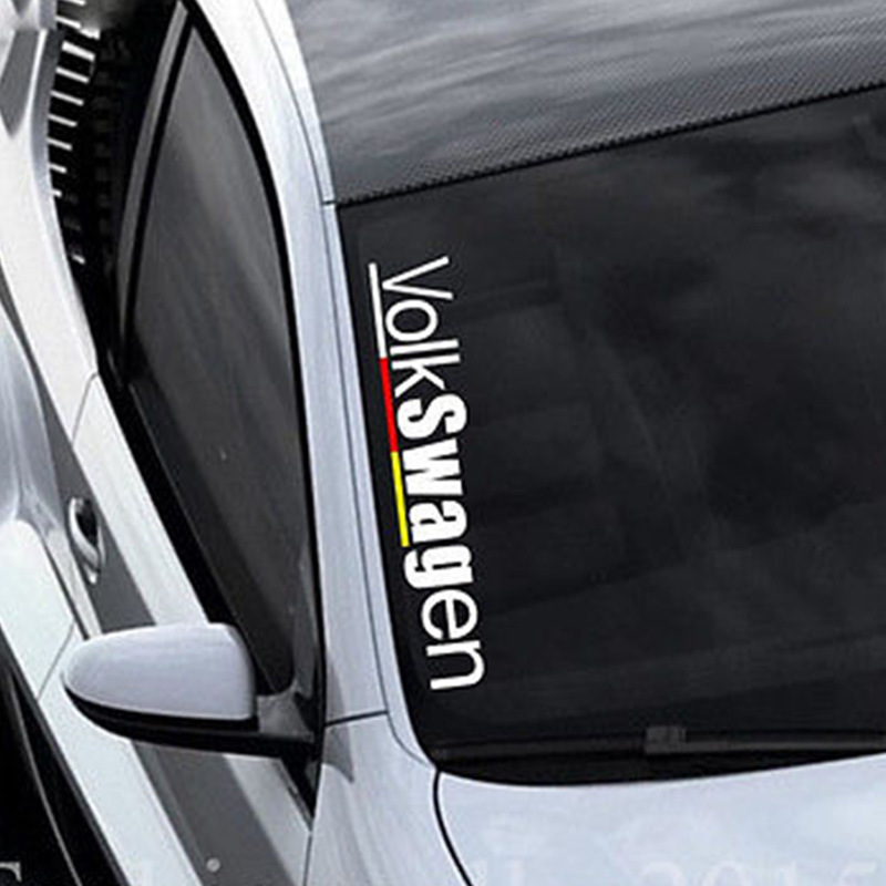 Former Volkswagen DIY Car Stickers Car Stickers Car Windshield Glass Side Decals