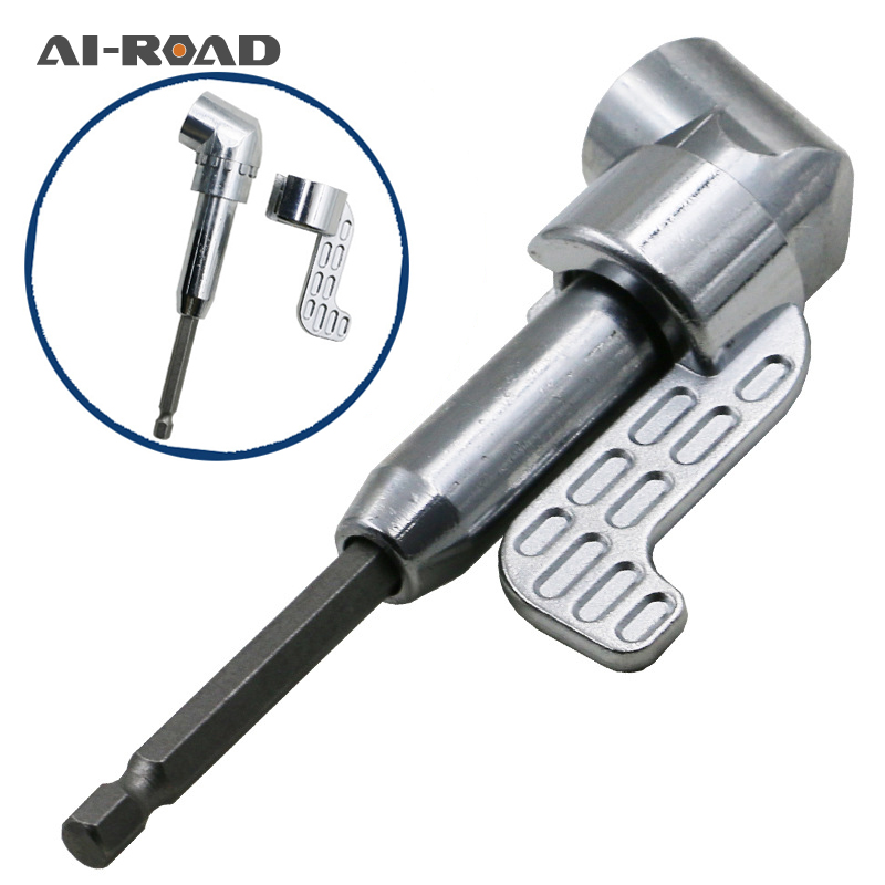 Adapter Nozzles Bits Screwdriver-Bit Socket-Holder Right-Angle-Head Angle-Extension 105-Degree