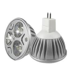 MR16 лампада светодиодные лампочки GU5.3 3w светодиоидная лампа с регулируемой яркостью 110V 220V прожекторы E27 E14 Gu10 DC12V лампы
