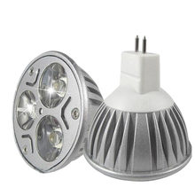 MR16 Lampada ampoule LED GU5.3 3w Dimmable 110V 220V Projecteurs E27 E14 Gu10 DC12V Lampes(China)