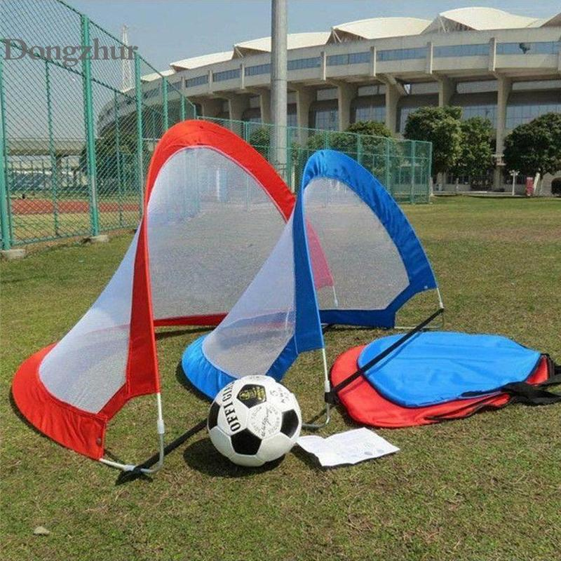 Kids Durable Soccer Football Goal Net Folding Training Goal Net Kids Indoor Outdoor Sports Children Kids Game