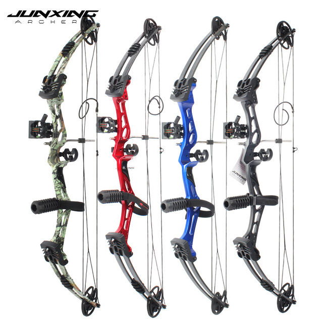 Junxing Archery 35-55 Lbs Compound Bow And Arrow Set, 310FPS, 70% Labor Saving Rate, Shooting Hunting Accessories 1
