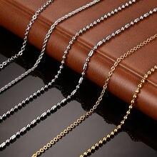 Vnox diy цепи Цепочки и ожерелья Нержавеющая сталь Для женщин