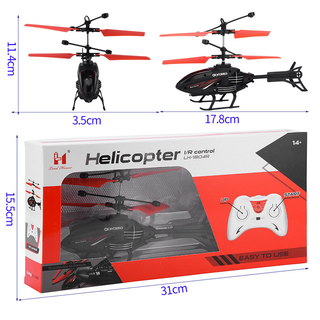 Mini RC Helicopter Infrared Induction Remote Control RC Toys for Kids 2CH Gyro Helicopter RC Drone Toy zabawki Age 3 Years 6