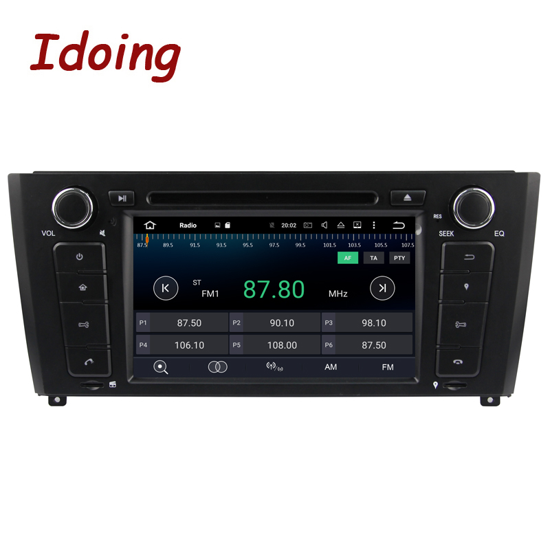 Idoing 2G Android7.1 1Din Steering Wheel For BMW E81/82/87/88 Quad Core Car Multimedia Player TV Fast Boot Built in 3G Dangle - 3