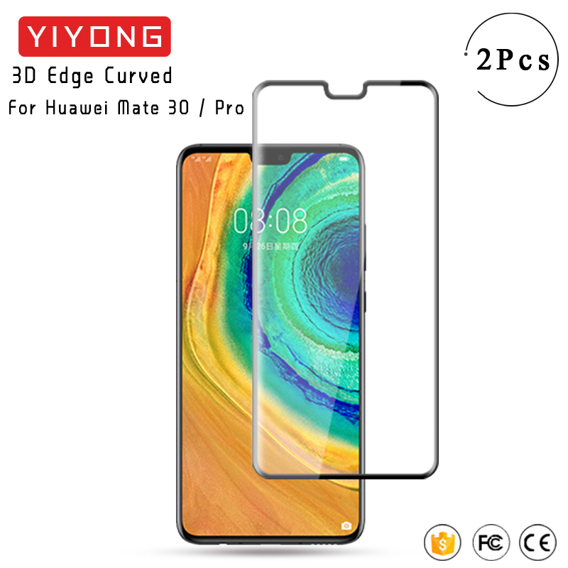 YIYONG 3D Edge Curved <font><b>Glass</b></font> For <font><b>Huawei</b></font> <font><b>Mate</b></font> 30 <font><b>Pro</b></font> Tempered <font><b>Glass</b></font> P30 <font><b>Pro</b></font> Screen Protector For <font><b>Huawei</b></font> <font><b>Mate</b></font> <font><b>20</b></font> <font><b>Pro</b></font> Mate30 <font><b>Glass</b></font> image