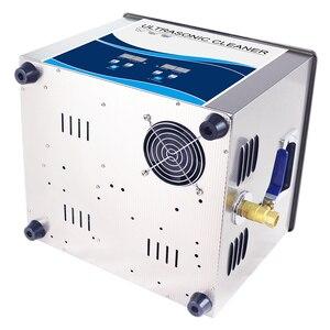 Image 3 - Granbo Ultra sonic מנקה 15L לשטוף אמבטיה 360 W/540 W sonic כוח עם נירוסטה סל עבור מקלדת מפתח כובע מעגל לוח PCB
