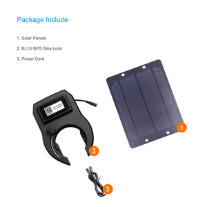 Image 5 - Concox BL10 Smart GPS Bike Lock Bluetooth Tracking Waterproof GSM GPS Locator Geo Fence With Solar Panel APP PC Realtime Positio