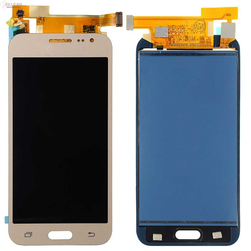 // J200F // J200Y // J200G // J200H //J200GU Durable Color : White GuiPing TFT Material LCD Screen and Digitizer Full Assembly for Galaxy J2 2015