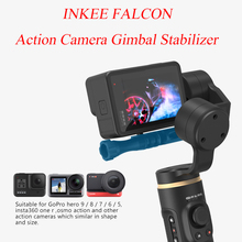 INKEE FALCON Action Camera Gimbal Stabilizer Handheld 3-Axis Anti-Shake Wireless Control for GoPro Hero 9/8/7/6/5 OSMO Insta360