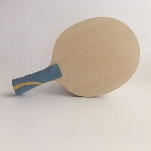 Lemuria 7 слойная чистая деревянная ракетка для настольного тенниса наступательная ракетка для пинг понга с ручкой ST ручка ракетка для настоль...