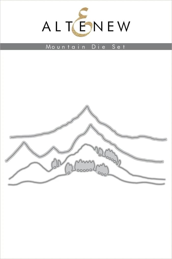 Metal Cutting Dies Mountain Cut Die Mold Decoration Scrapbook Paper Craft Knife Mould Blade Punch Stencils Die
