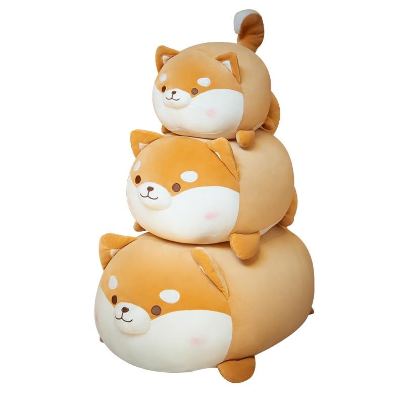 Плюшевая игрушка-собака корги и Сиба-ину, 35-70 см 1