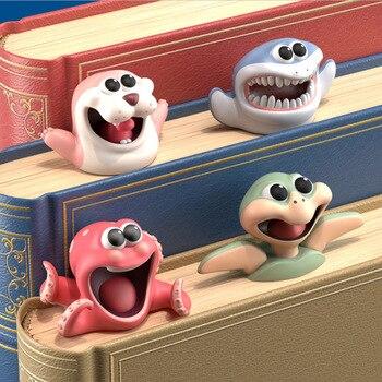 Αστείοι 3d Σελιδοδείκτες Βιβλίων Ζωάκια της Θάλασσας Χαρούμενοι Παιδικοί Σελιδοδείκτες για Βιβλία