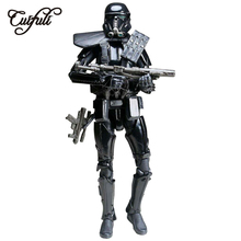 цена на Cuifuli Star Wars Imperial Death Trooper Figures Action Model Toys for Children Boy Birthday Gift