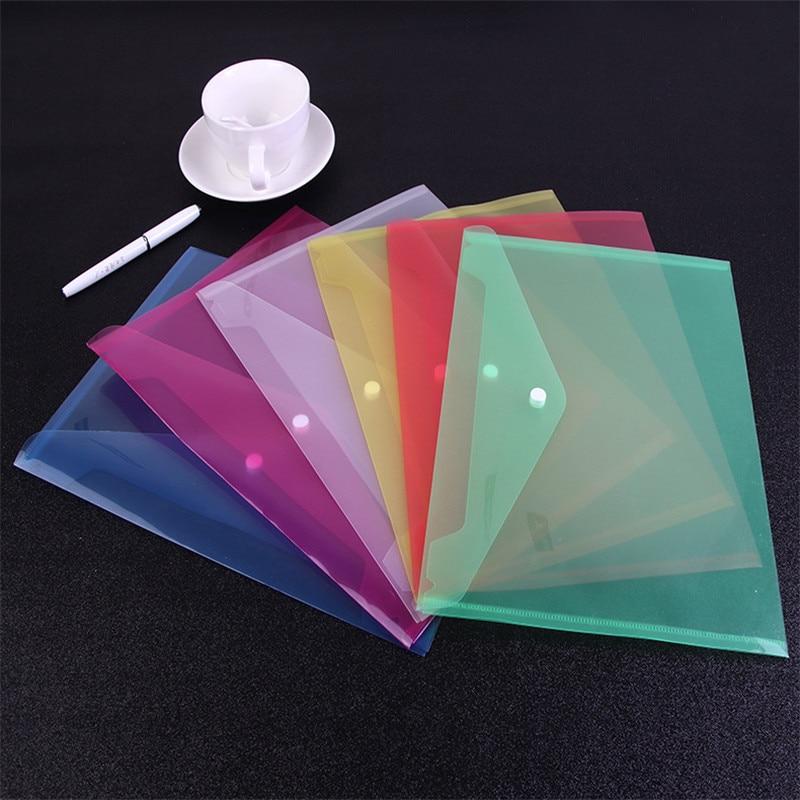 Plastic Envelopes Premium Quality Clear Document Folders  Transparent Project Envelope Folders With Snap Button Closure New