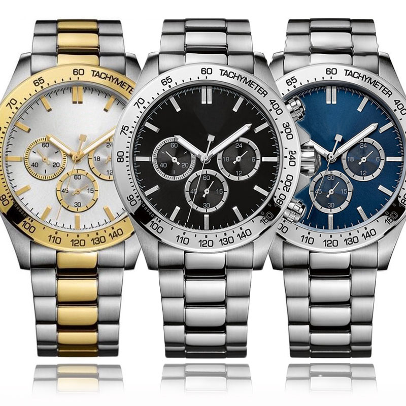 AAA Dial Sport Watches For Men Fashion Chronograph Mens Watches Top Brand Luxury Boss Image