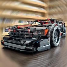 Xingbao 07003 TECHNIC Car Series 1814pcs Creative Genuine Future Racing Building Blocks MOC Bricks Compatible Legoings