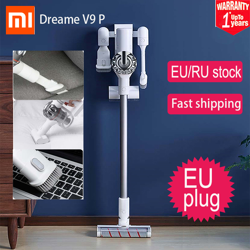 Xiaomi Dreame V9 vacuum cleaner Handheld household Portable Wireless Cordless cyclone Suction Dust Collector For Home Car-in Vacuum Cleaners from Home Appliances