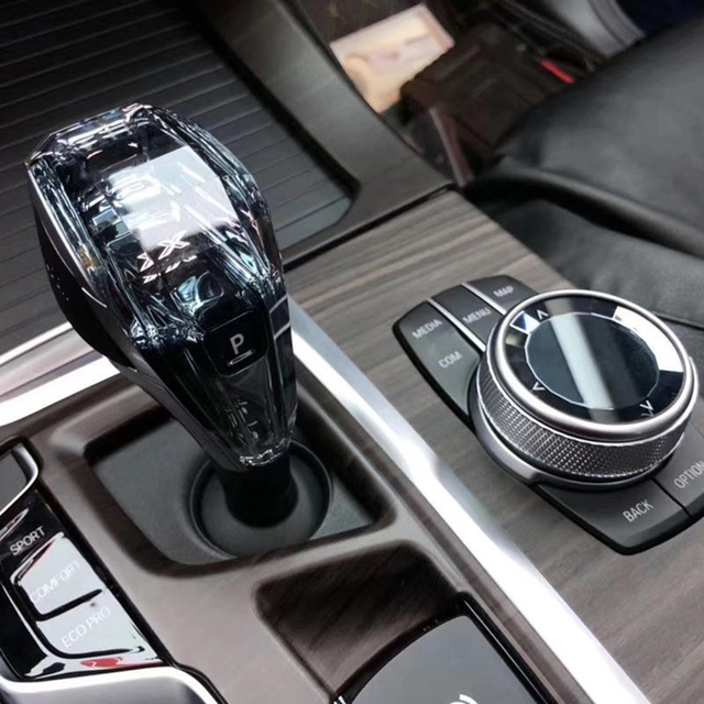 Mankaleilab modifié changement de vitesse poignée remplacement cristal bouton de vitesse modifié fichier de mise à niveau pour BMW X3 X4 F25 F26