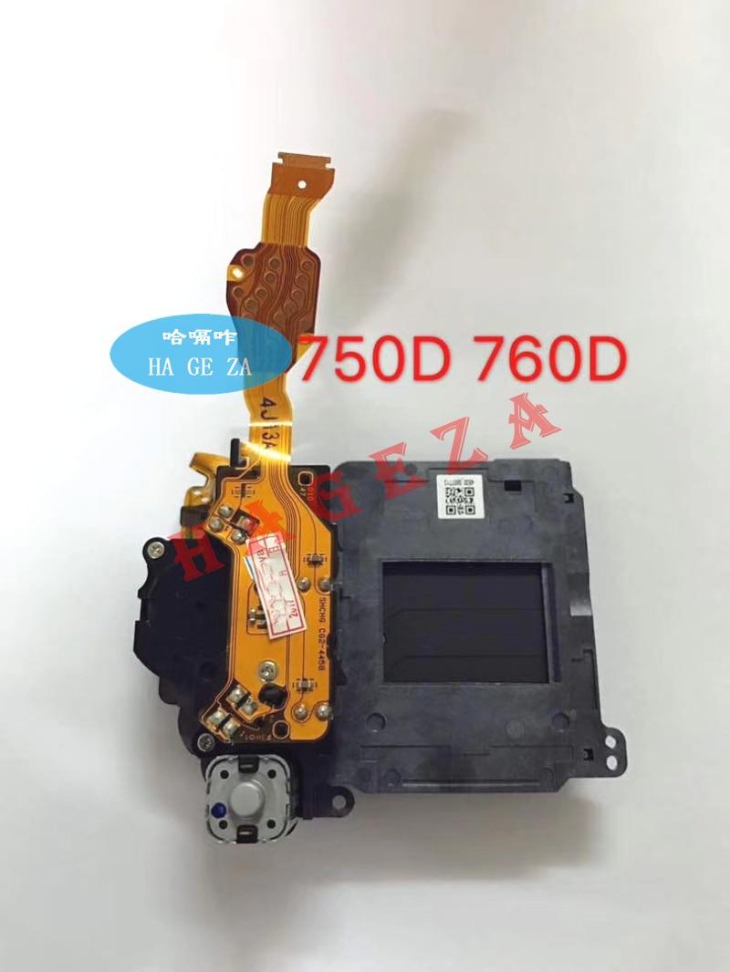 New Original 750D Shutter Unit For Canon 760D Shutter Assembly Group SLR Camera Repair Part