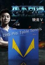 Borracha de alta velocidade do tênis de mesa do stacky da esponja de wang hao loki rxton 5/rxton v/borracha do pingue-pongue