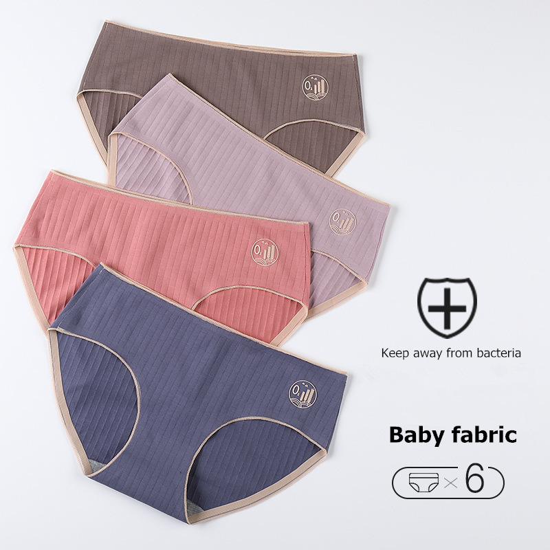 Panties For Women Bacteriostatic Cotton Underwear Female Causal Briefs Ladies Sexy Lingerie Women Underpants Intimates Wholesale