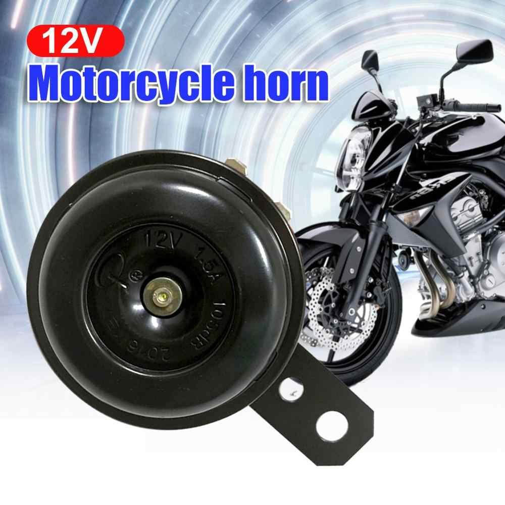 KKmoon 12V Moto Bocinas Cuerno Altavoz El/éctrico Impermeable 110db 100MM Universal para Motocicleta