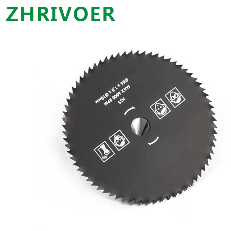 Micro Electric Grinding Saw Blade Carbide Cutting Blade 85 * 10 * 72t