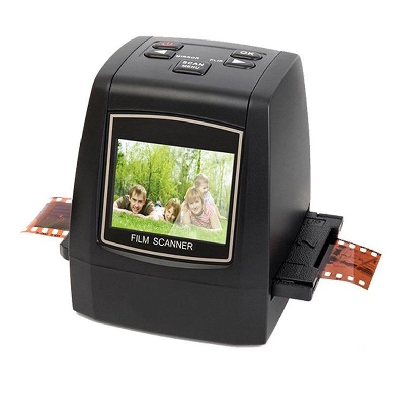 22Mp Support 35Mm 110 Slide Negative 126Kpk Super 8 Film Silde Scanner Digital Converter(Eu Plug) Scanners     - title=