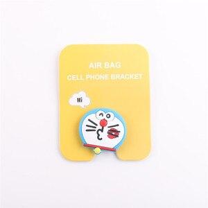 Image 3 - מחזיק טלפון סלולרי אוניברסלי חמוד 3D בעלי החיים חתול מגוון אוויר תיק Smartphone הרחבת גריפ Stand אצבע טבעת מחזיק Soporte סלולרי