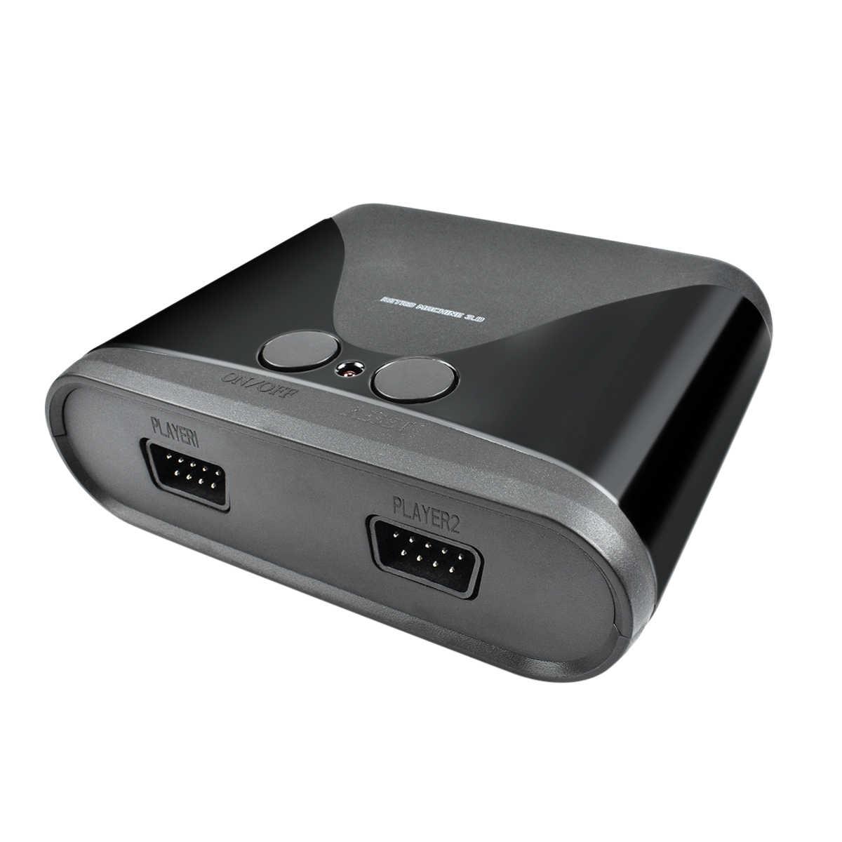 Bonacell 2019 חדש רטרו מיני טלוויזיה וידאו קונסולת משחקים עבור AVH 16 קצת משחקים עם 68 שונה Built-ב משחקים שני Gamepads AV החוצה L50
