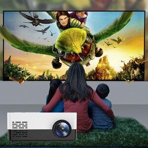 Image 2 - 1080P HD מקרן מיני LED מקרן כף יד סרט Beamer עבור וידאו משחקים חכם קולנוע ביתי מדיה נגן
